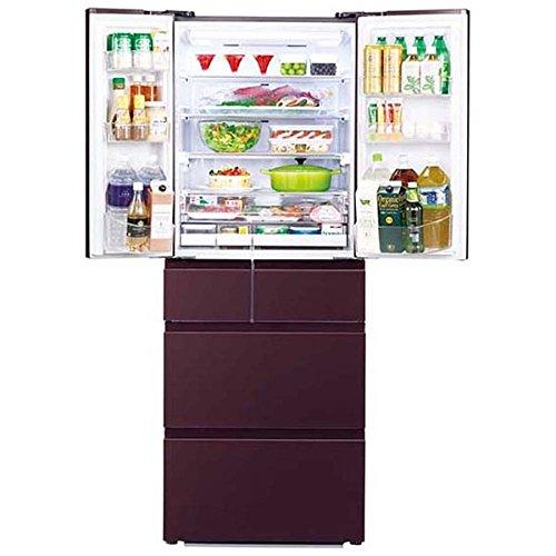(福岡市博多区) 新品 AQUA アクア 冷蔵庫 501L 6ドア 観音開き AQR-FG50D レッドの買取-78000