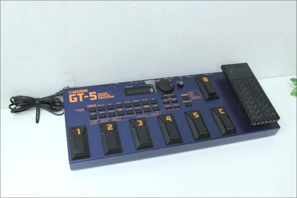 B6191S BOSS ギター マルチエフェクター GT-5 ジャンクの買取-2400