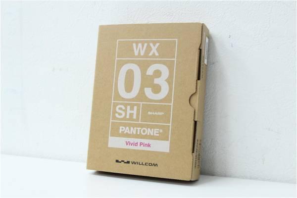 (福岡市博多区) WILLCOM ウィルコム PANTONE WX03SH ピンクの買取-