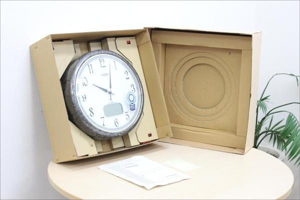 【Small World】シチズン 電波からくり時計 4FY605RH08 未使用の買取-30000