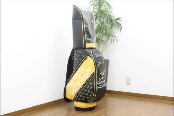 (福岡市中央区)■限定品■ スコッティキャメロン スタッフバッグ ゴルフバッグの買取-160000
