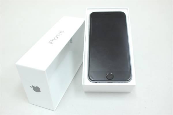 (筑紫野市)au 【美品〇判定】 iPhone6 64GB A1586 スペースグレイ 付属品有の買取-