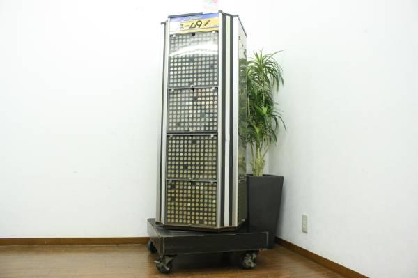 ( 福岡市南区)業務用 シャチハタ用ショーケース 印鑑タワー 回転式 4面の買取-