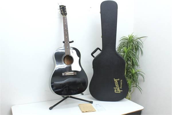(福岡市城南区)Gibson 1960s J-45 ADJ ブラック 保証書/純正ケース付きの買取-