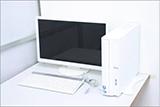 パソコン本体、液晶モニター