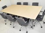 会議テーブル、イス