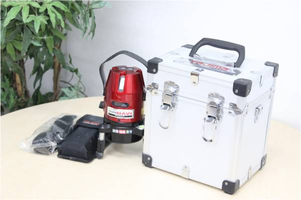 (春日市)TAJIMA タジマ レーザー墨出し器 NAVI-RCV3の買取-50000