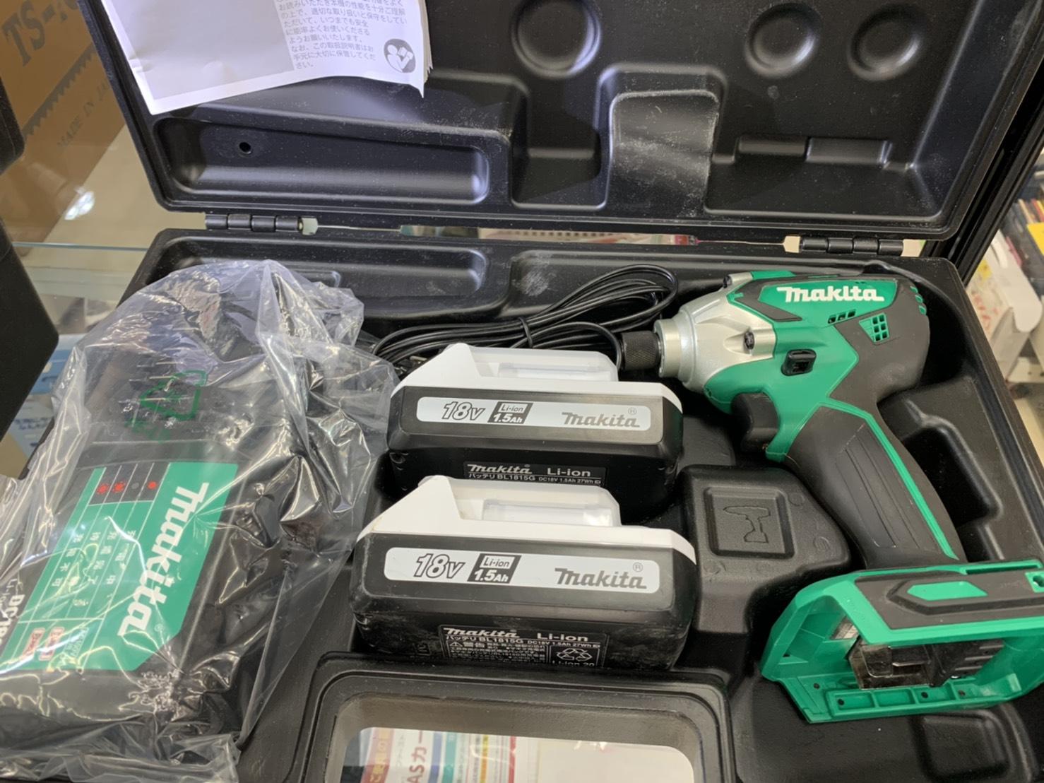 電動工具/makita/マキタ/18Vインパクトドライバー/MTD002Dをお買取させて頂きました!!の買取-