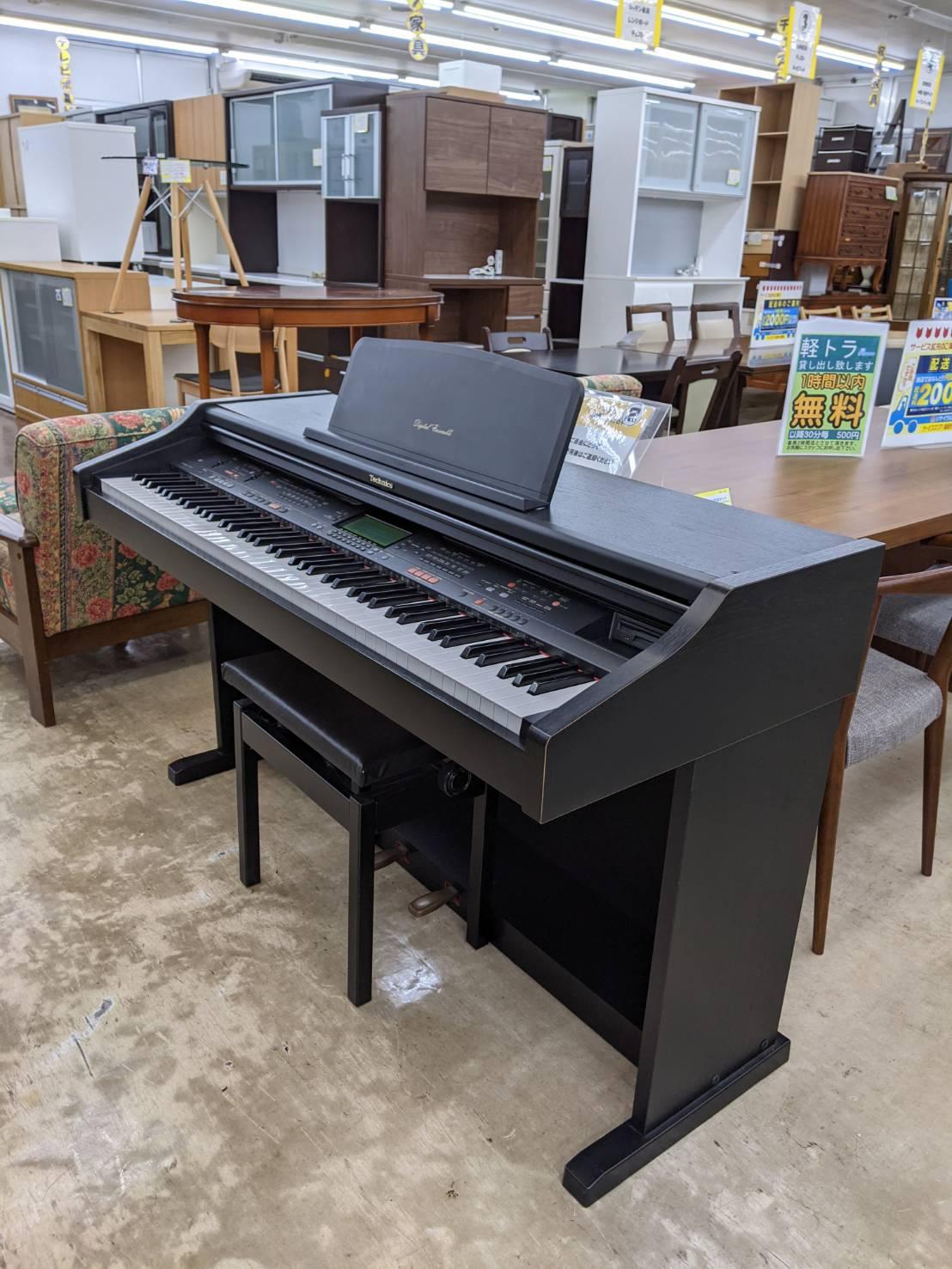 【Techics ☆テクニクス☆ デジタルアンサンブルピアノ SX-PR52 電子ピアノ】お買い取り致しました!!の買取-
