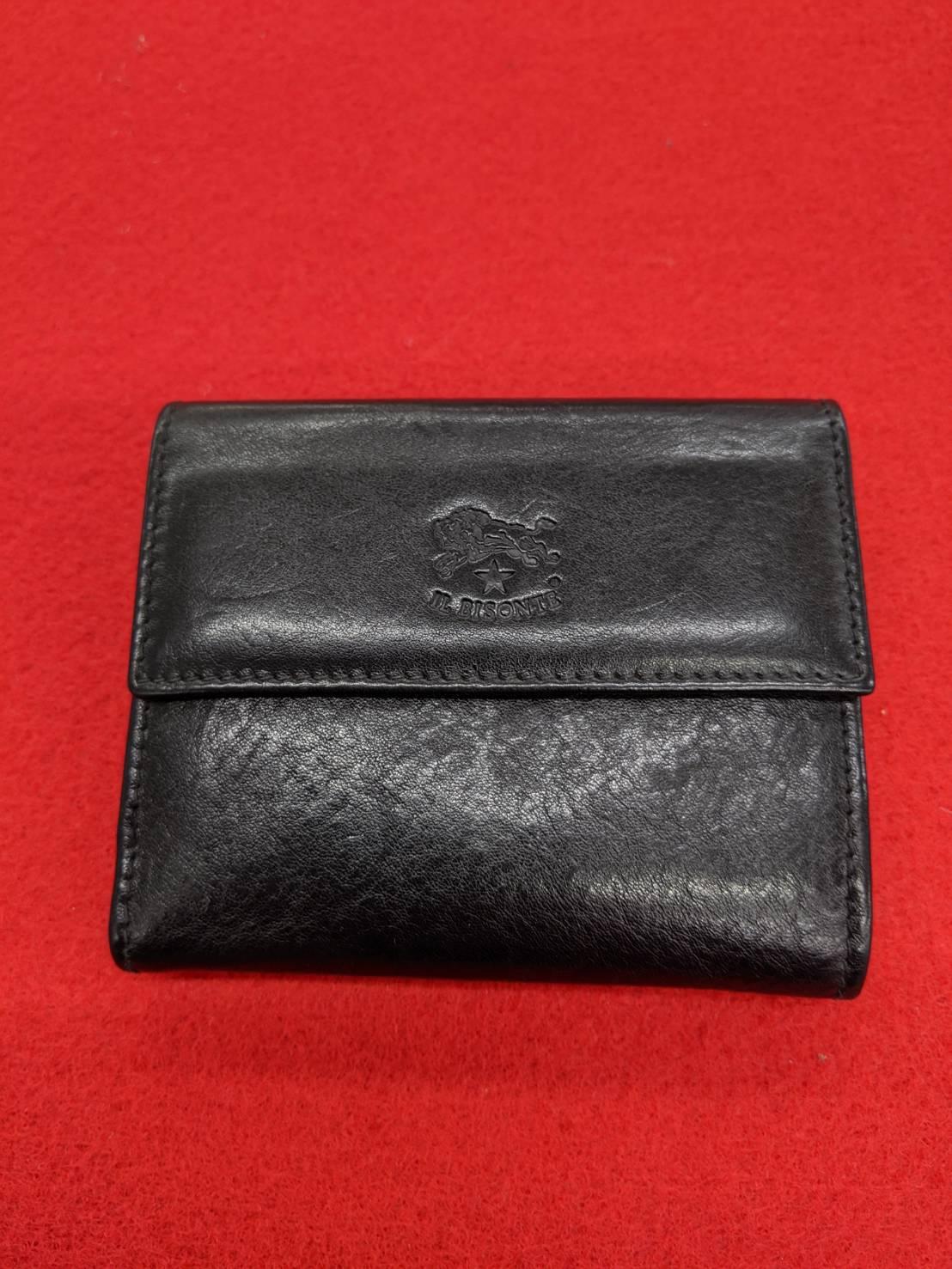 IL BISONTE(イル ビゾンテ) Wホック財布 買取致しました!!の買取-