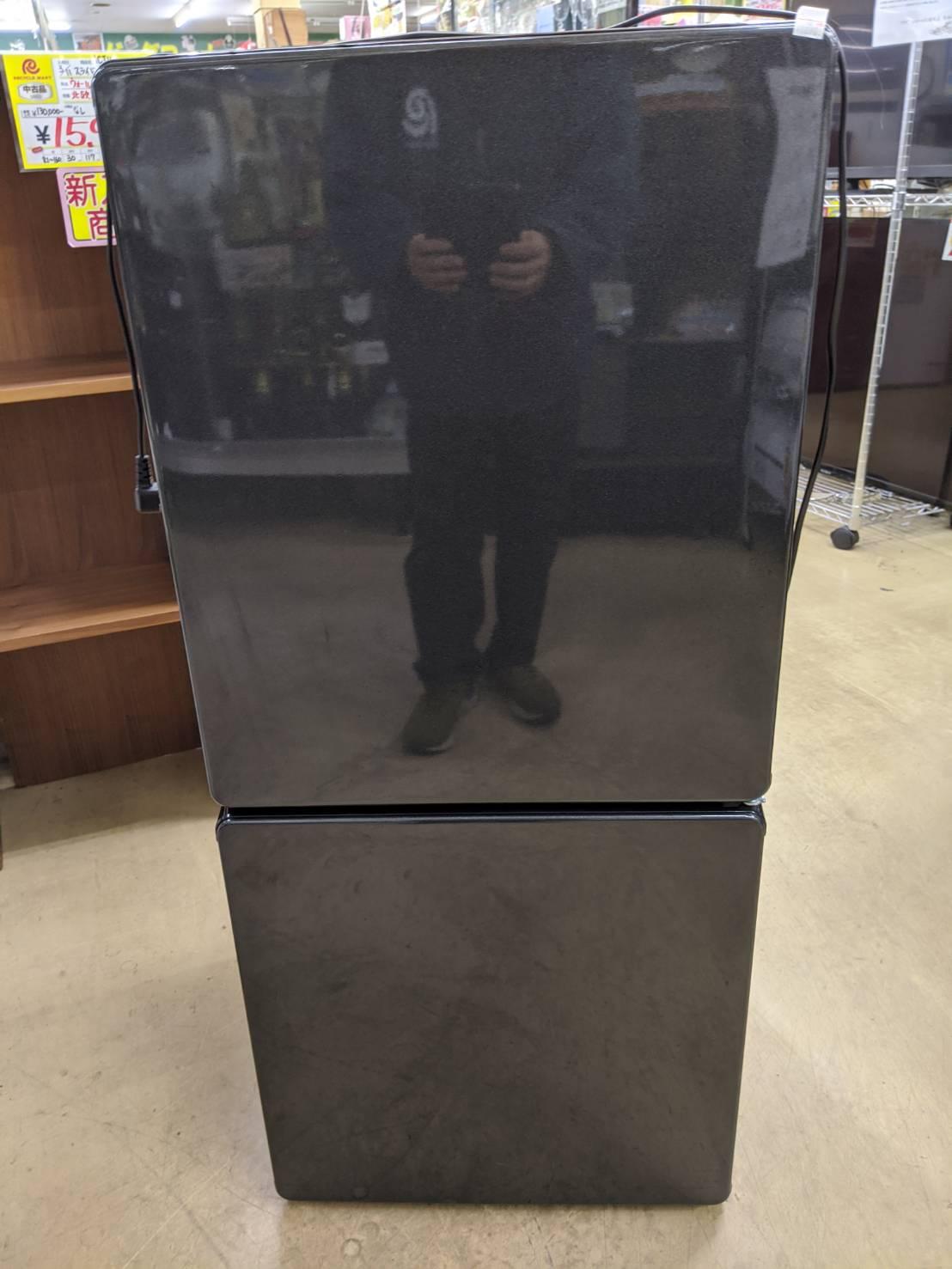 u-ing 110L冷蔵庫 2017年 UR-F110H 美品 買取致しましたの買取-