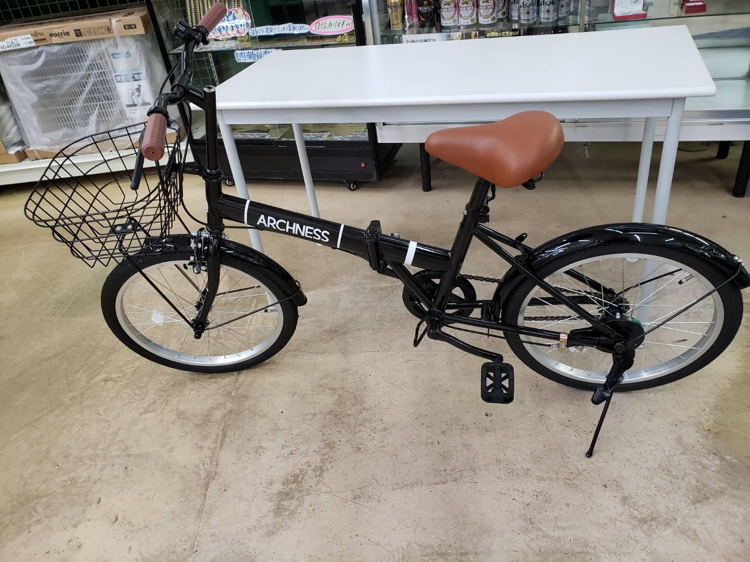 ARCHNESS 折り畳み自転車 極美品! 買取致しました!!の買取-