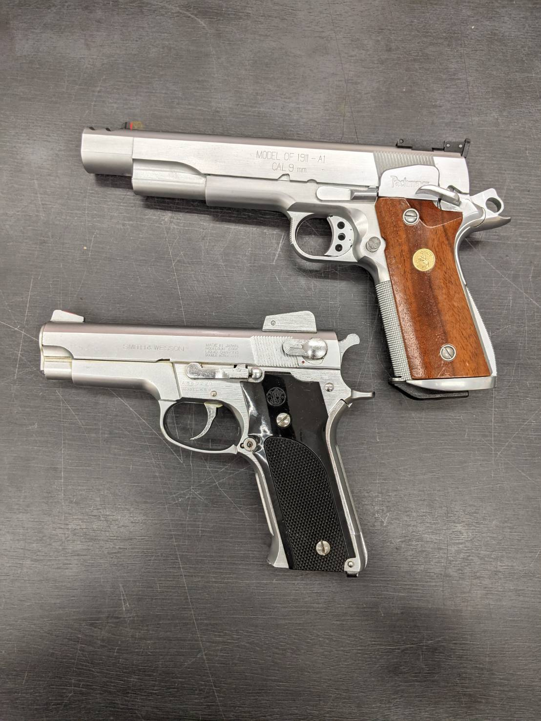 【Pachmayr SPRINGFIELD ARMORY 1911-A1 & SMITH&WESSON MODEL659 】お買い取り致しました!!の買取-