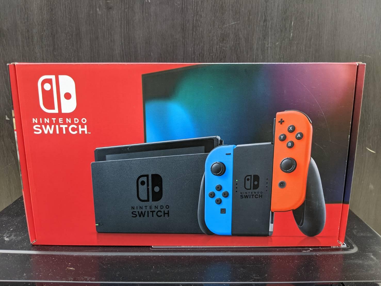 【☆未使用品☆ Nintendo Switch HAC-001 任天堂 スイッチ】お買い取り致しました!!の買取-