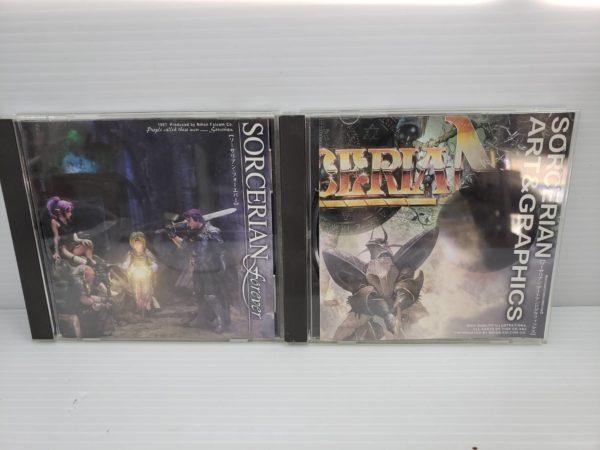 レトロゲーム 日本falcom SORCERIAN ソーサリアン windows95版 買取致しました。レトロゲームも買取致します!!