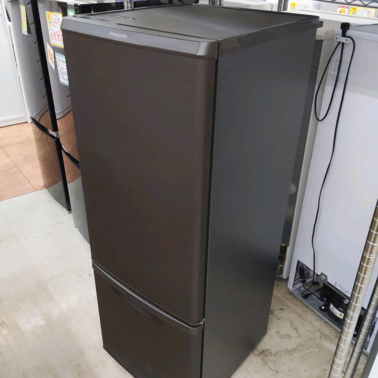 【2019年製 Panasonic 168L 冷蔵庫 マットブラウン NR-B17CW】をお買い取りさせて頂きました!!の買取-