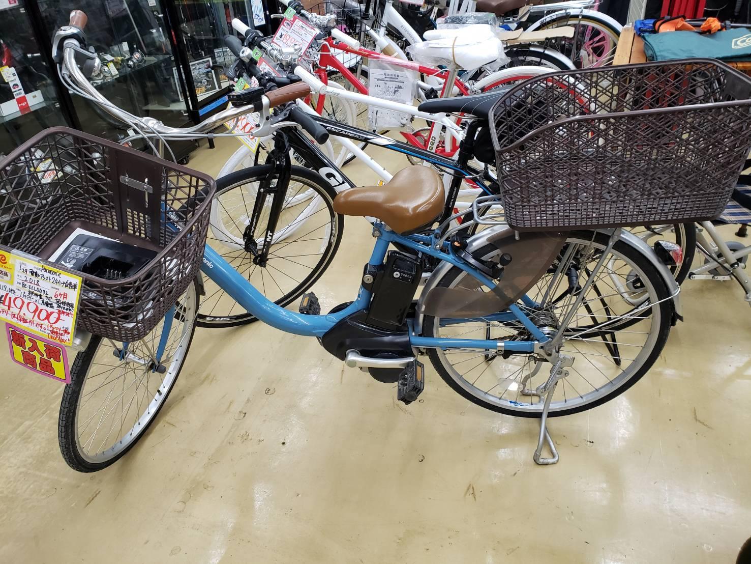 Panasonic / パナソニック VIVI 電動アシスト自転車 2018年製 買取致しました!の買取-