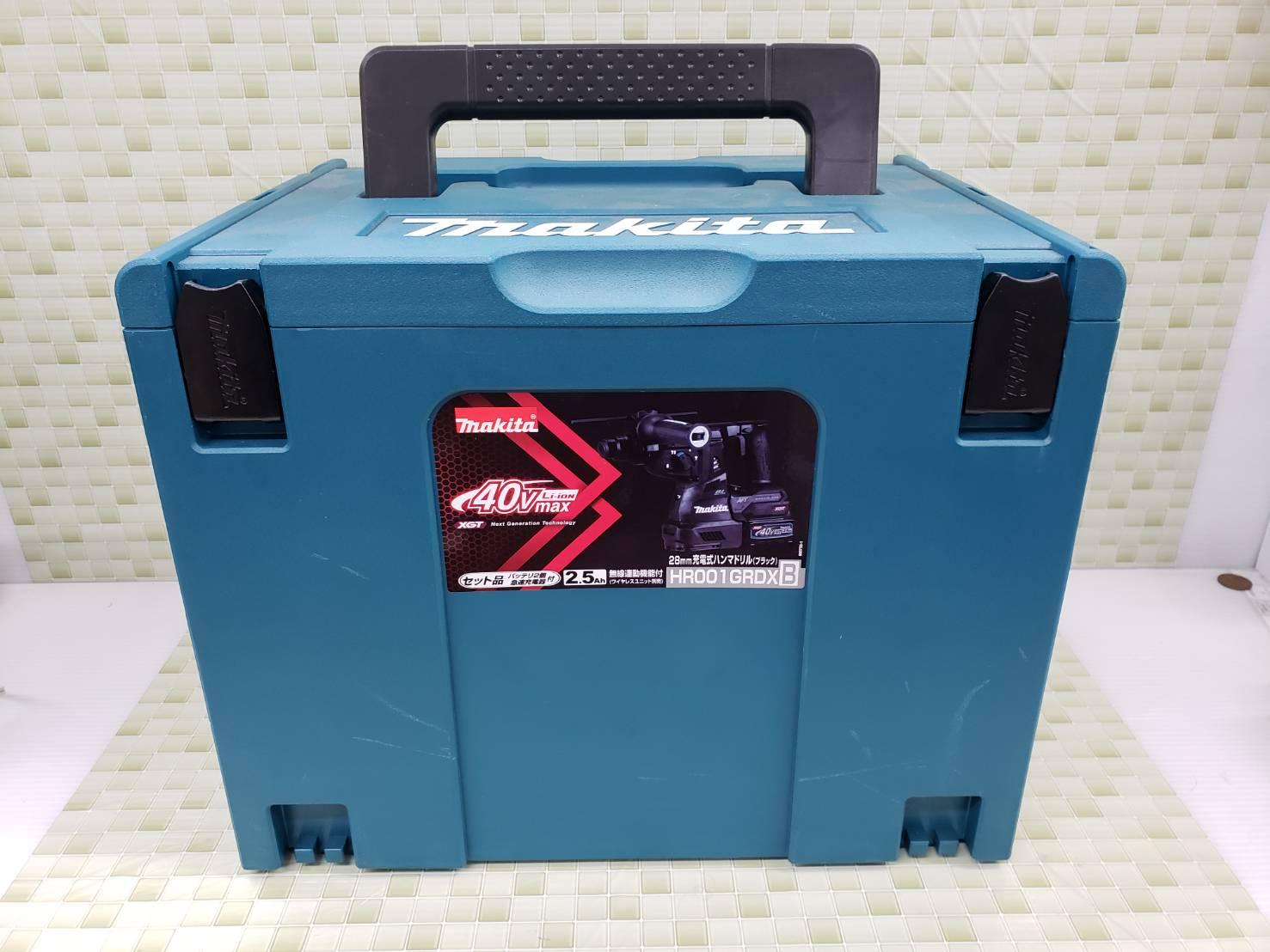 Makita / マキタ 28mm充電式浜ドリル / HR001GRDX 未使用品 買取致しました!の買取-