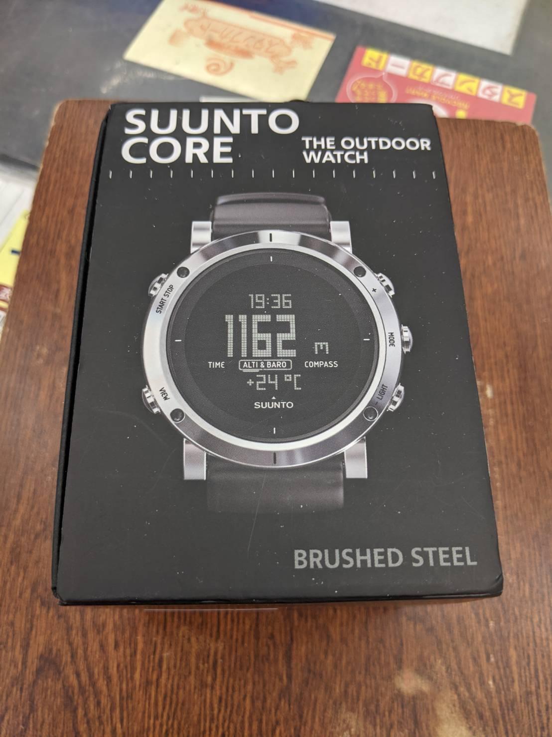 【☆未使用品☆Suunto Core Brushed Steel 時計(スント コア ブラッシュド スティール】お買い取り致しました!!の買取-