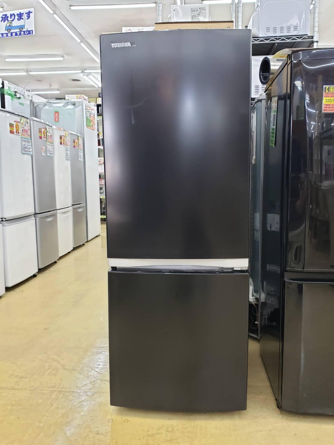 TOUSHIBA / 東芝 153L冷蔵庫 2020年製 GR-R15BS 買取致しました の買取-