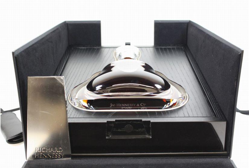 (久留米市) 未開栓 Hennessy リシャール ヘネシー バカラ 700ml 箱付の買取-140000