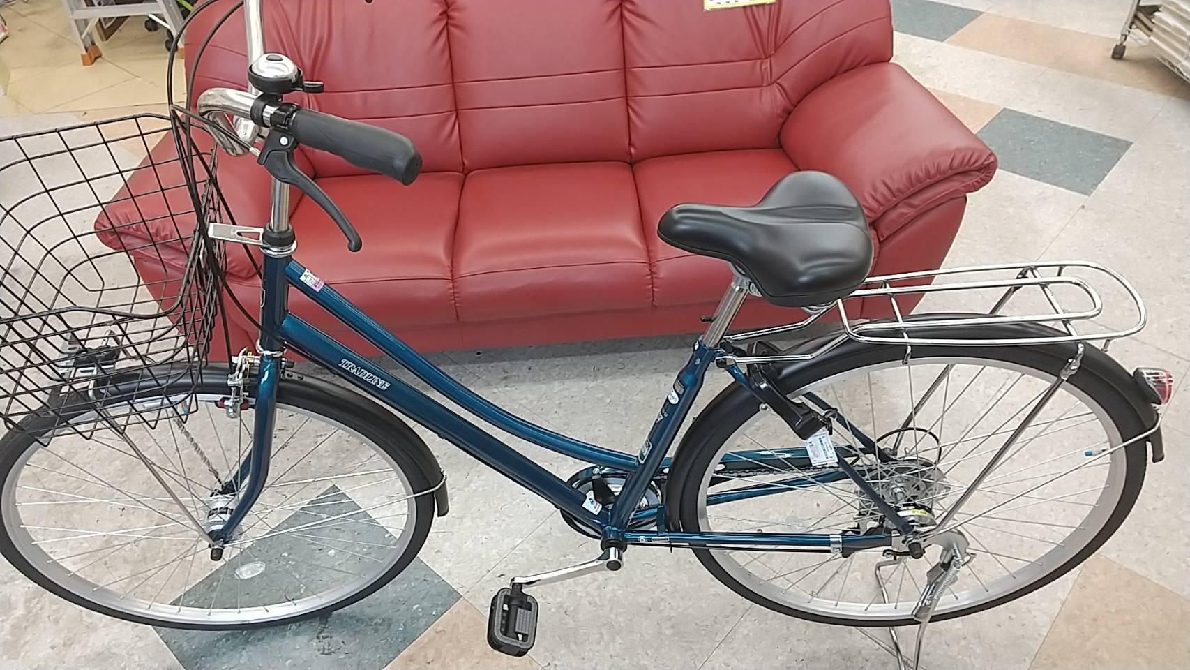 【超美品!! TRADLINE トラッドライン 27インチ自転車(鍵付き)】を買取致しました!!の買取-