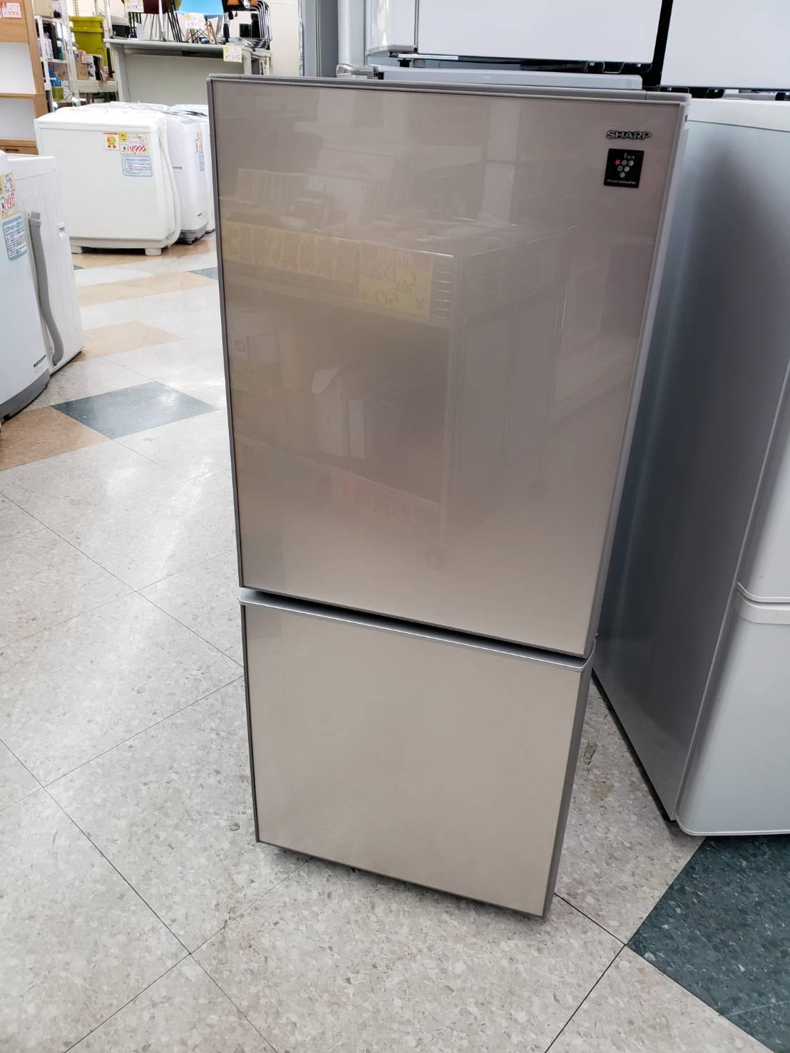 【SHARP(シャープ) / プラズマクラスター / 137L冷蔵庫 / 2017年式 / SJ-GD14C-C】買取させて頂きました!の買取-
