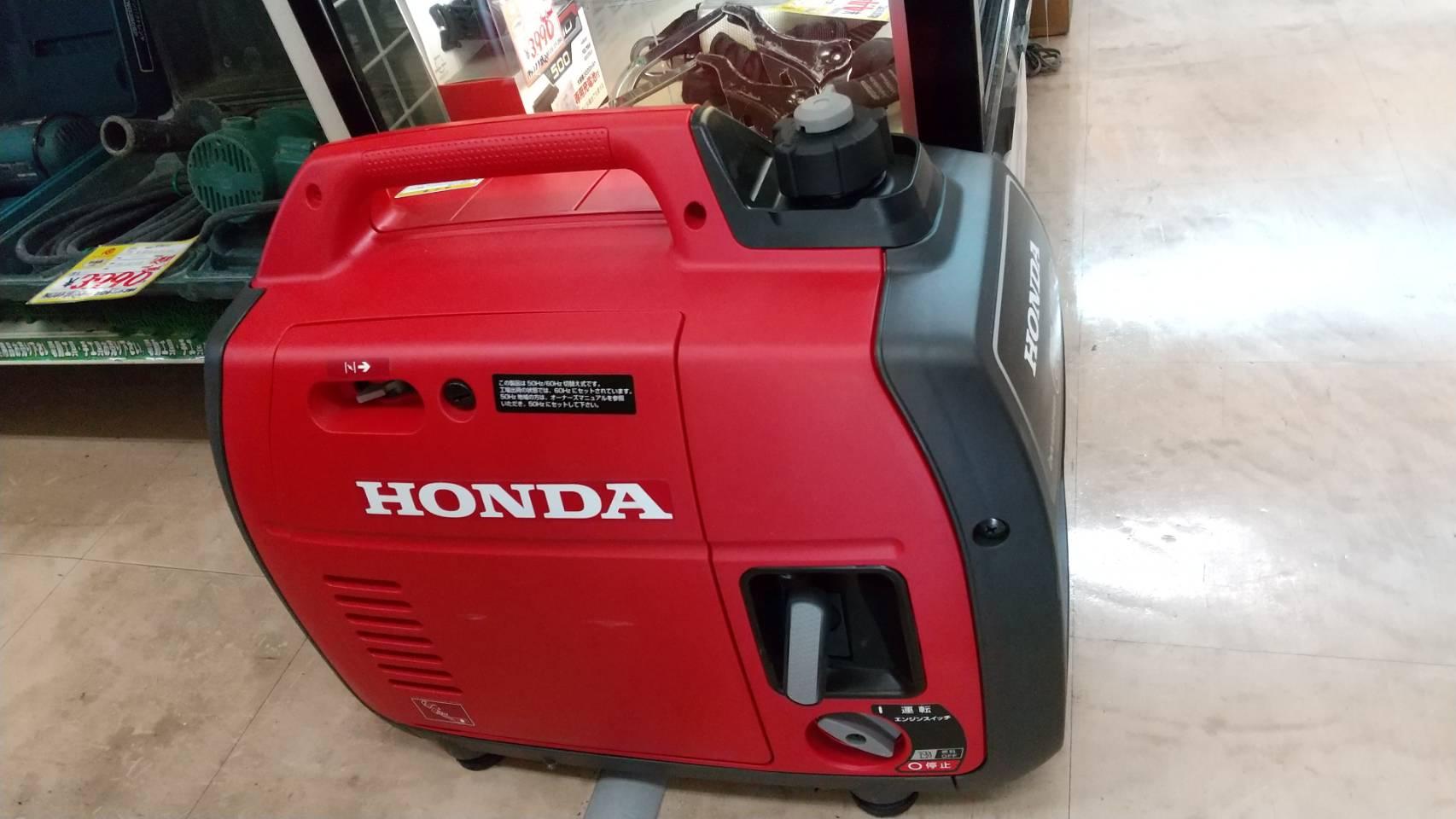 【超美品!! HONDA ホンダ インバーター発電機 2018年製 EU18i】を買取致しました!!!の買取-