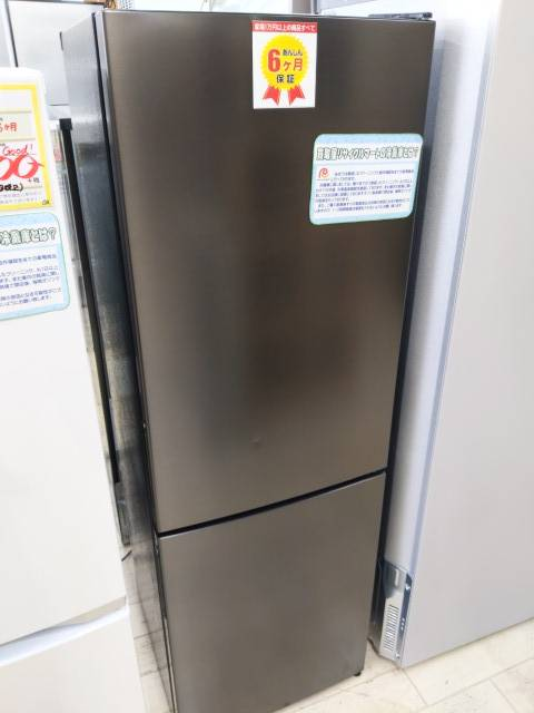 【2020年製 MAXZEN 157L 冷蔵庫 下も横開き ガンメタリック】を買取致しました!の買取-
