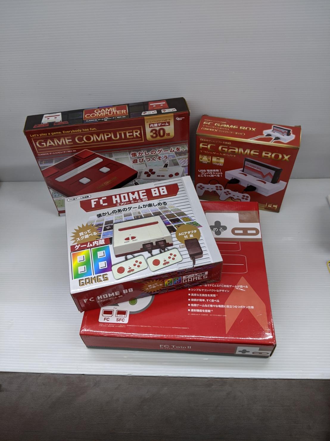 ファミコン、スーパーファミコン、懐かしゲームが遊べるゲーム機大量入荷!!の買取-