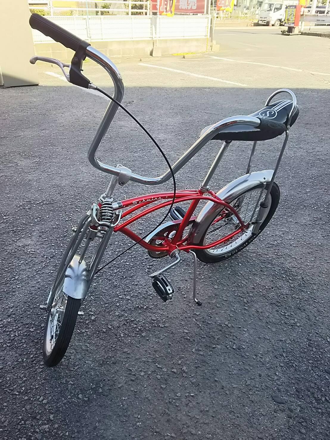 自転車も各種取り揃えております!!【schwinn stingray シュウィン スティングレイ 自転車 アメリカンバイク】を買取致しました。の買取-