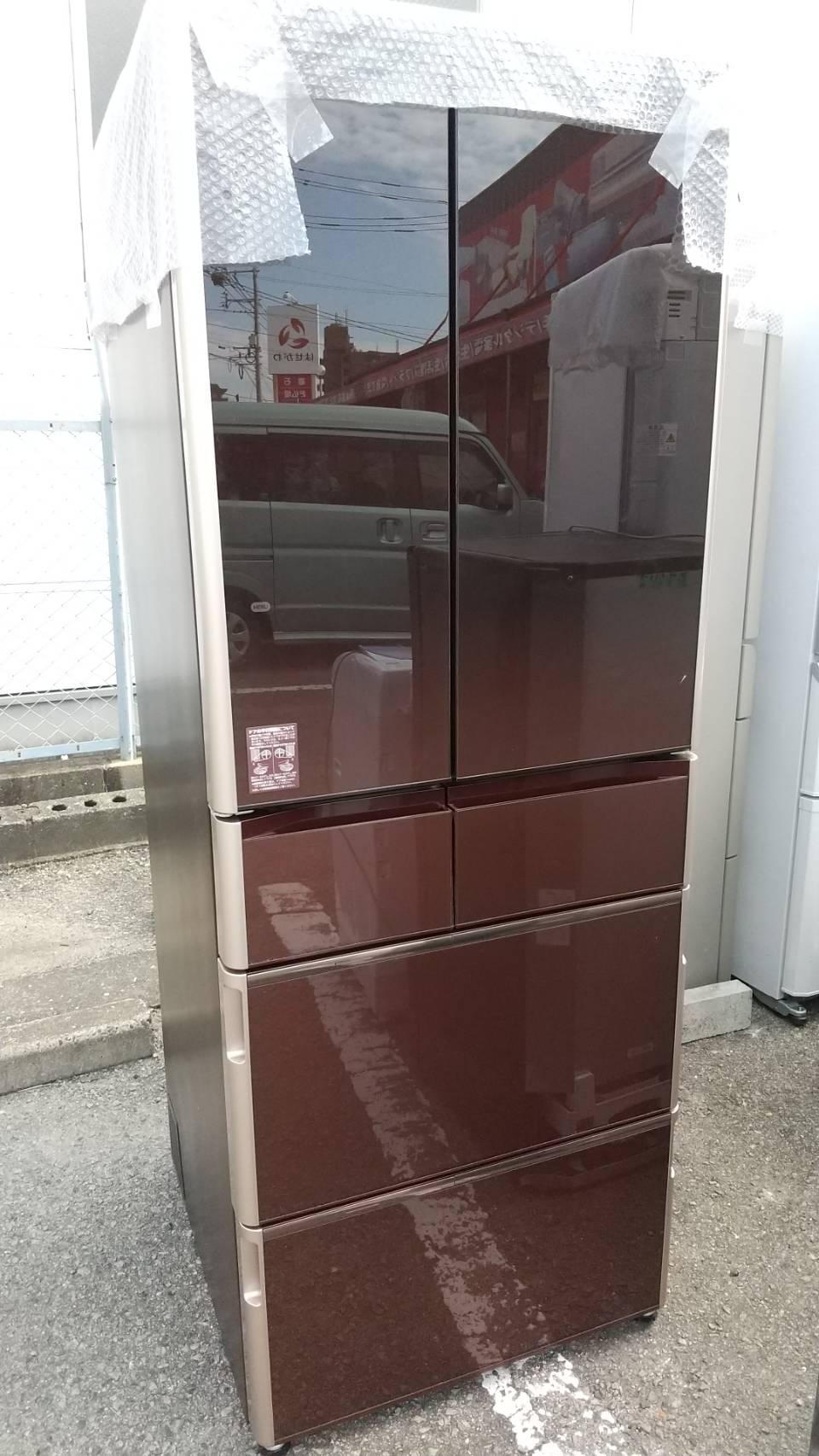 【555Lガラストップ冷蔵庫 HITACHI 日立 R-WX5600G 2017年式】の買取-