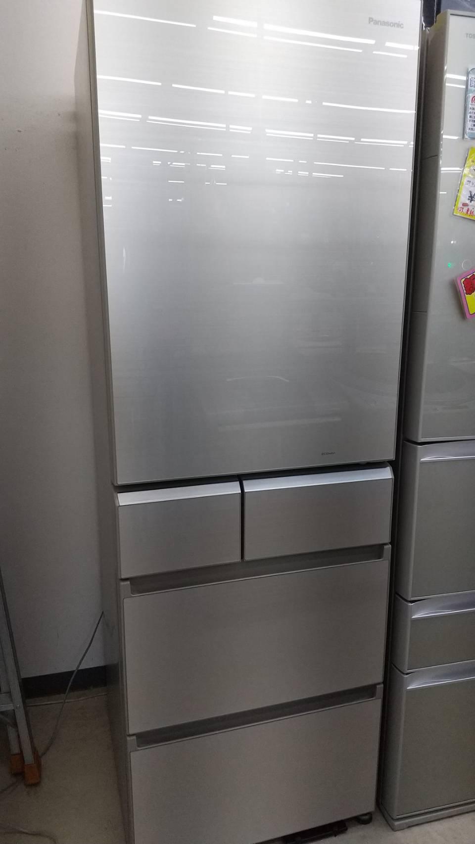 【Panasonic パナソニック 406Lガラストップ冷蔵庫 2016年式 NR-E412PV-N】の買取-