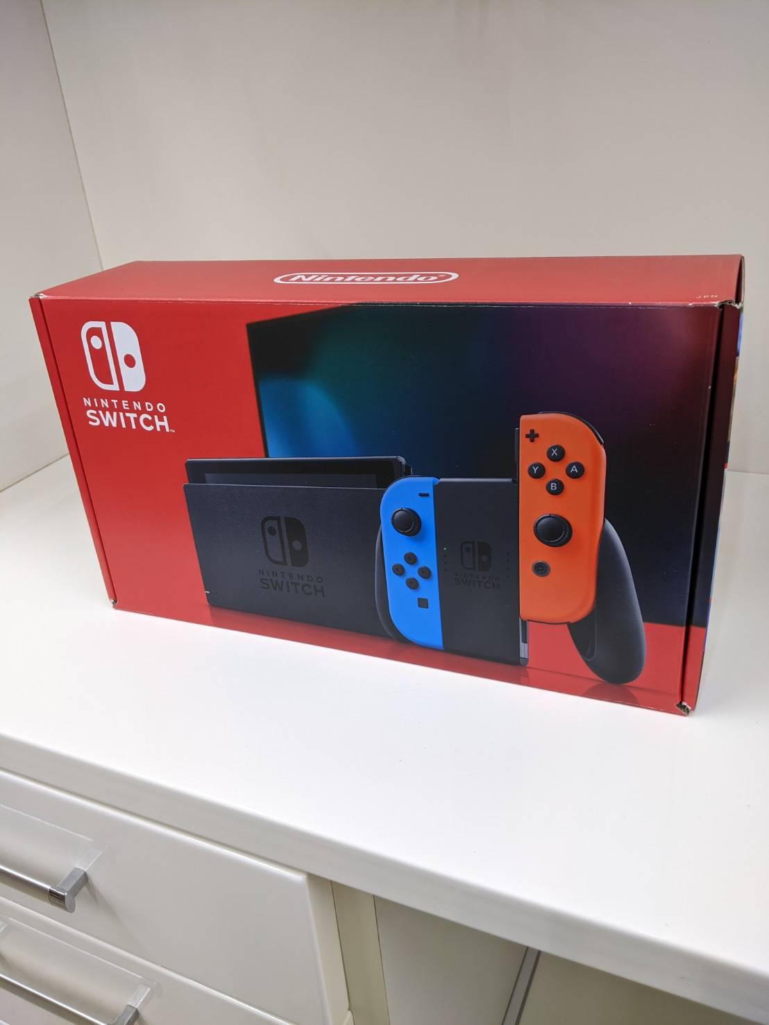 【Nintendo Switch HAD-S-JXE-C1 ニンテンドースイッチ】をお買い取りいたしました!の買取-