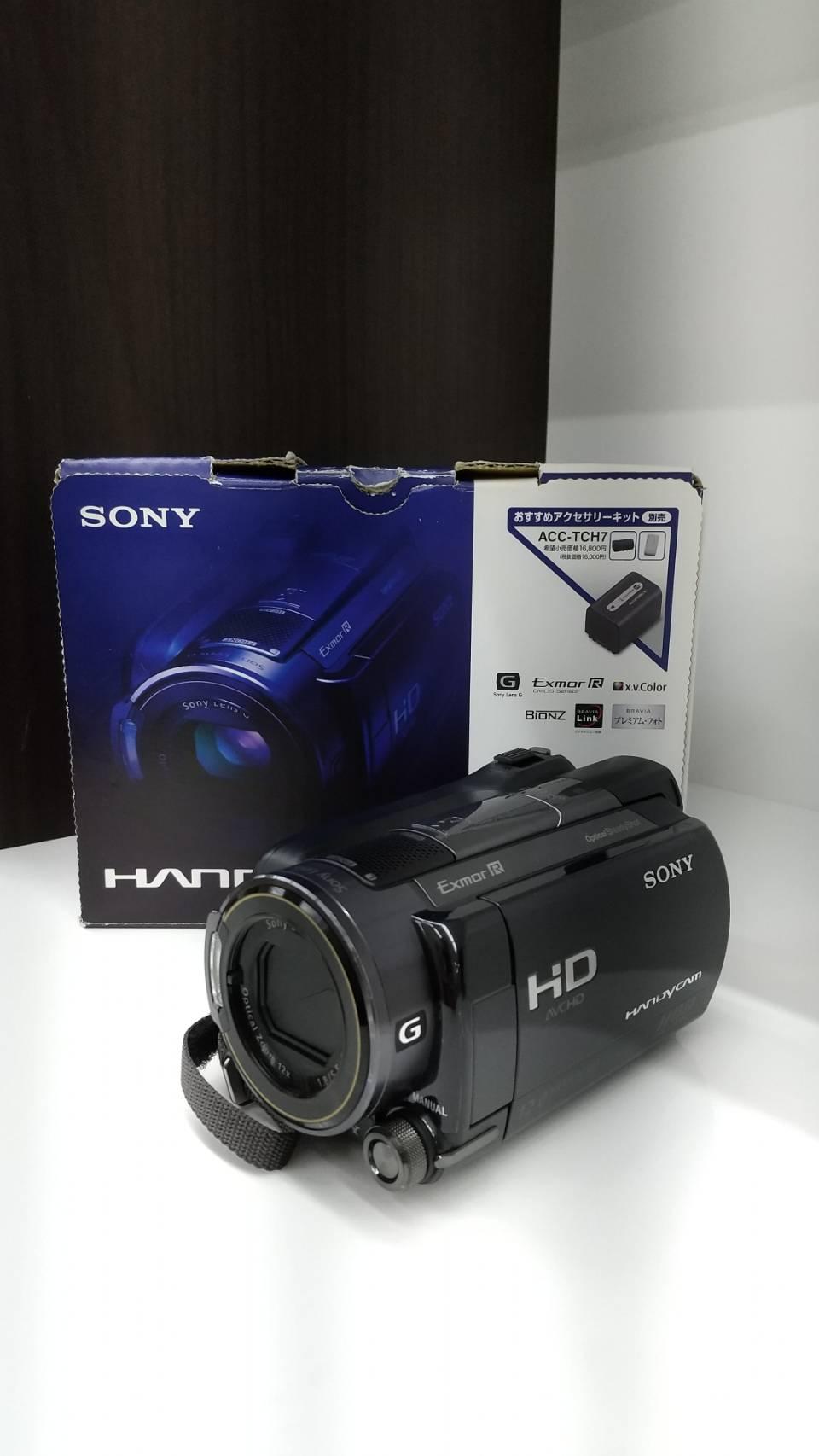 【SONY ソニー デジタルビデオカメラ デジカメ HDR-XR520V】をお買い取りいたしました!!の買取-