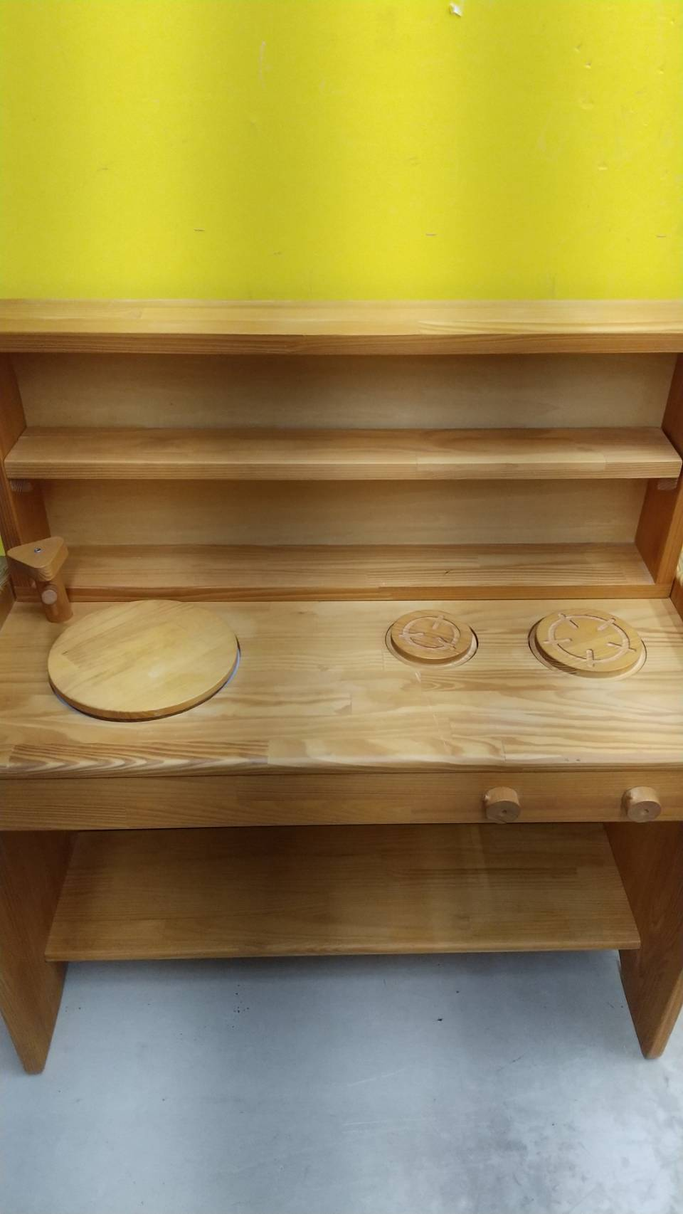 【MOKUYUSYA  木遊舎 ままごとキッチン キッズ】を買取いたしました!!の買取-