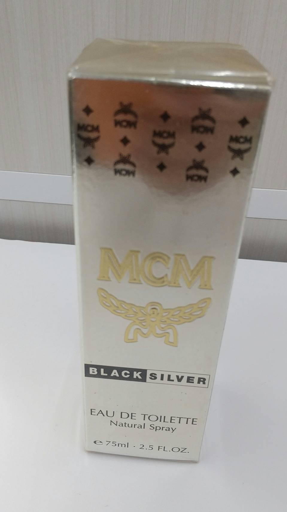 【MCM 香水 BLACKSILVER ブラックシルバー 75ml 未使用未開封品】を買取いたしました!の買取-