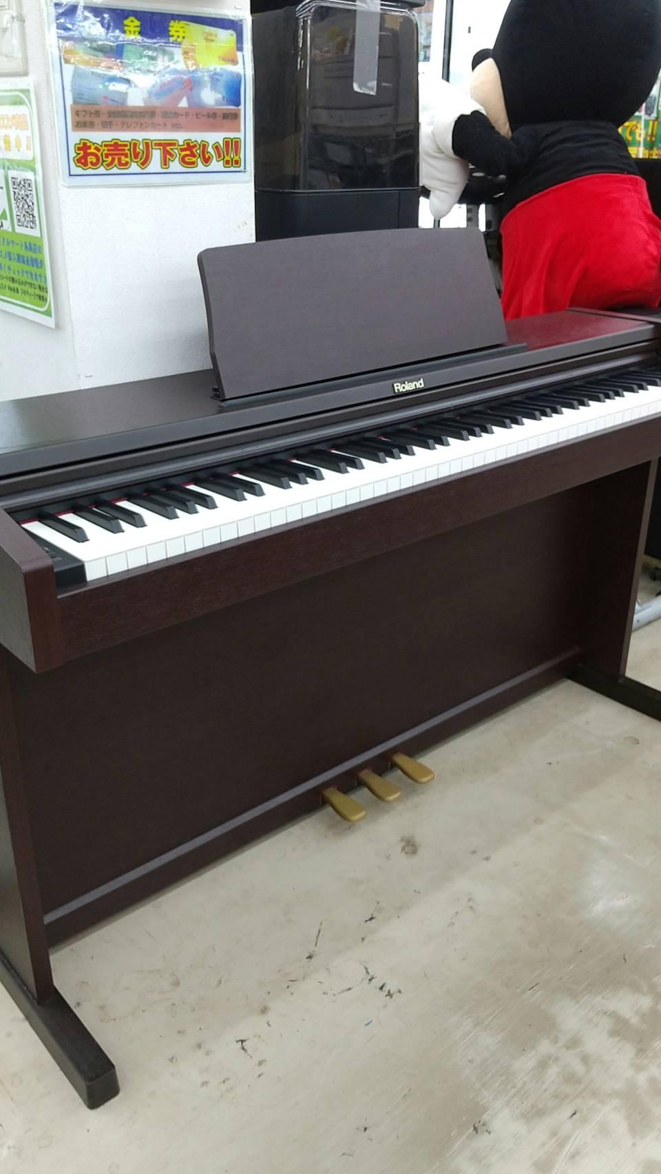 【Roland 電子ピアノ 2008年式 RP101-MH ローランド 楽器 キーボード】を買取いたしました!の買取-