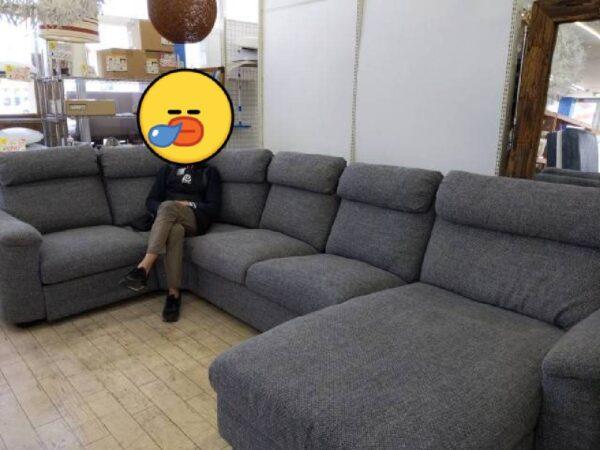 【定価208,990円】YouTuber愛用!!IKEA LIDHULT リードフルト 4P 5P  カウチ コーナー ソファ 収納スペース付きが入荷致しました。