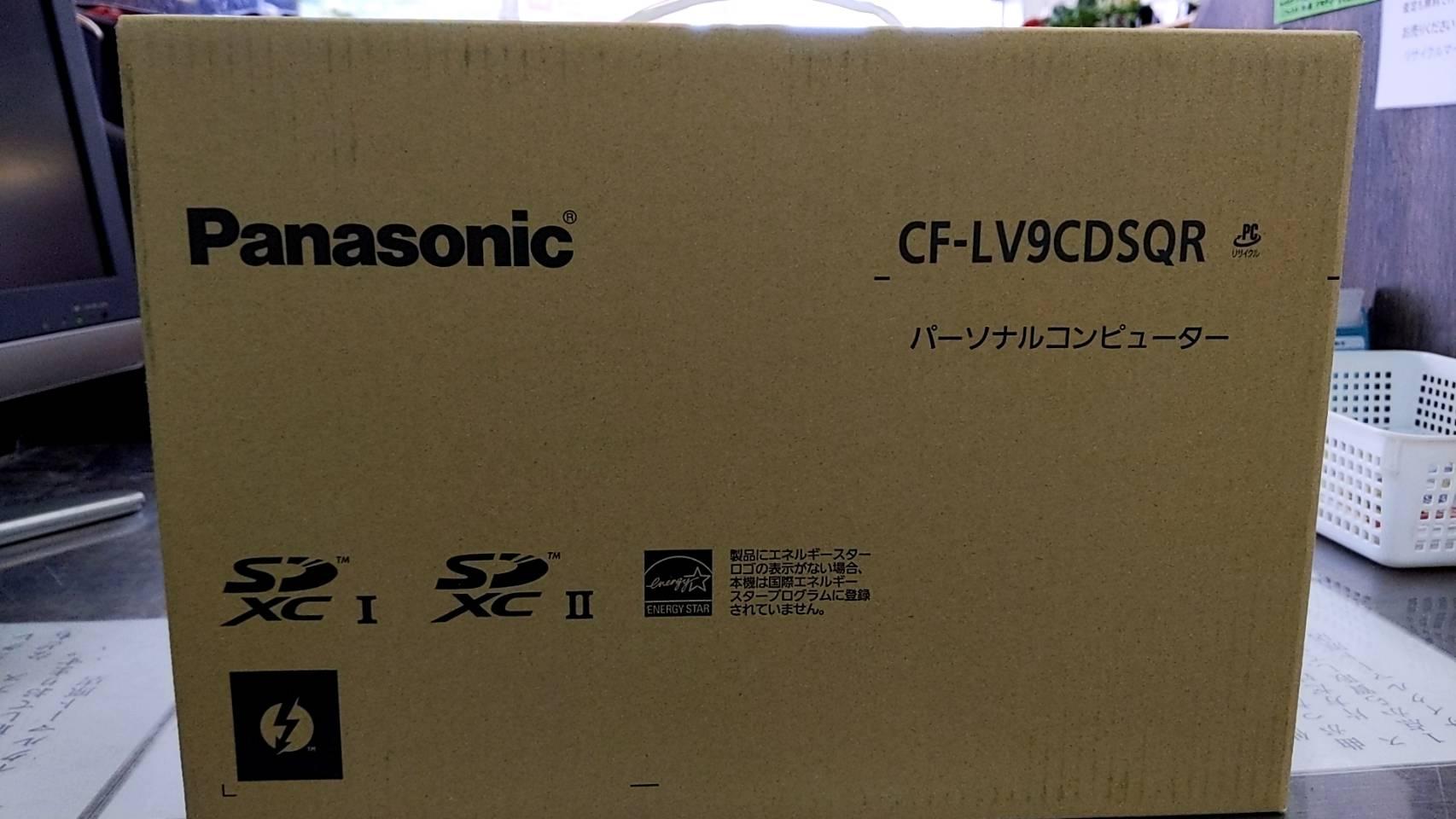 【新品!! Pnasonic パナソニック 14インチノートPC Let's note LV9 CF-LV9CDSQR】を買取致しました!!の買取-