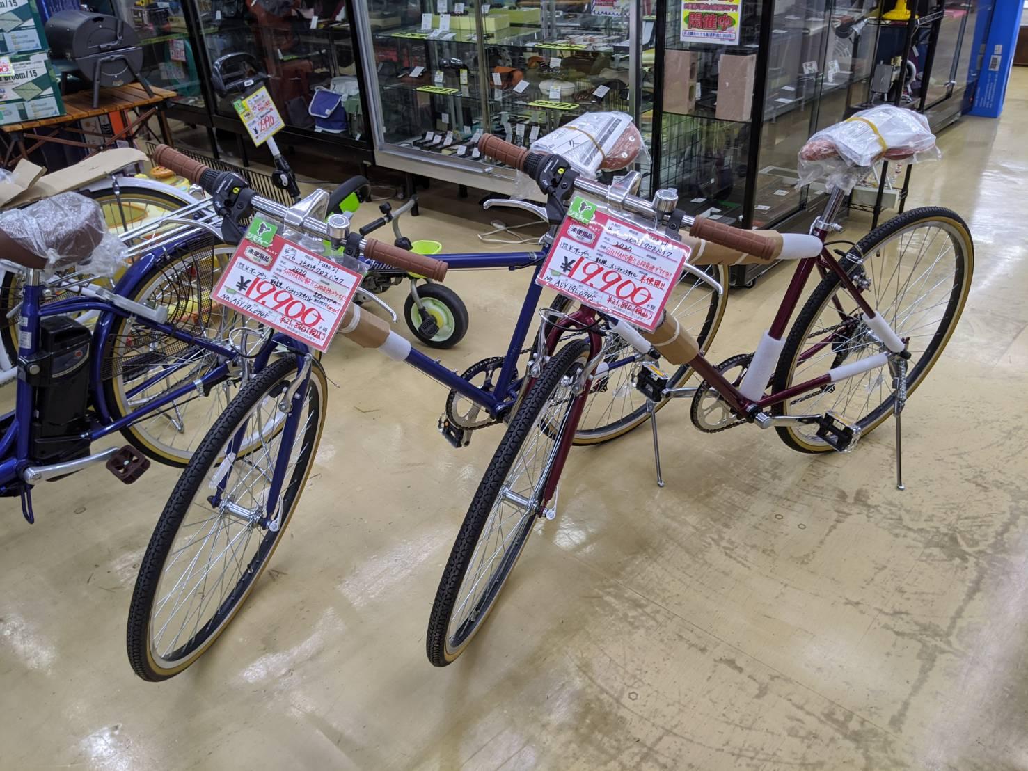 新品 Funn21 26インチクロスバイク 入荷しました!!の買取-