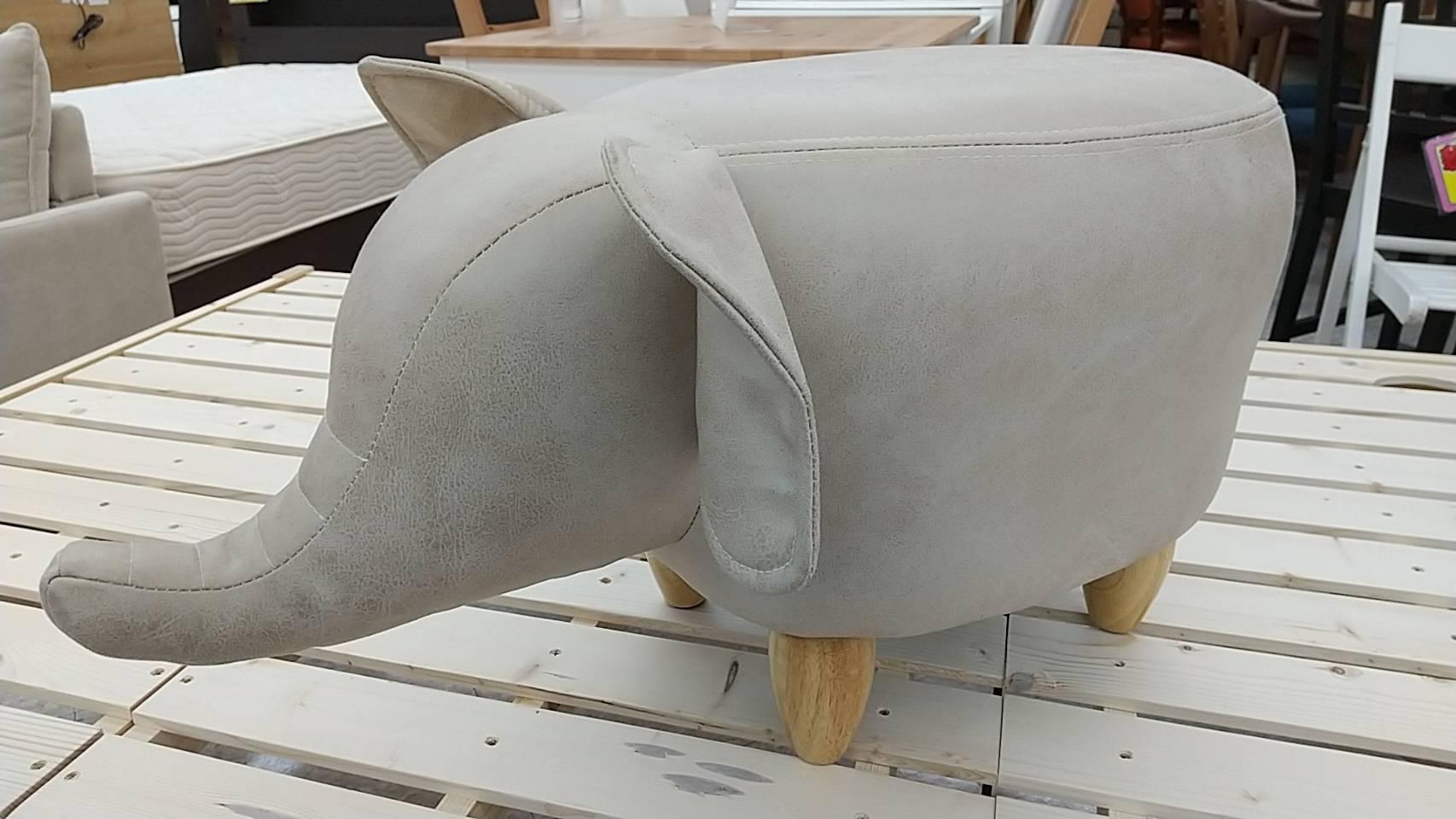 【アニマルスツール 象さん 玄関用ストール】を買取致しました!!の買取-