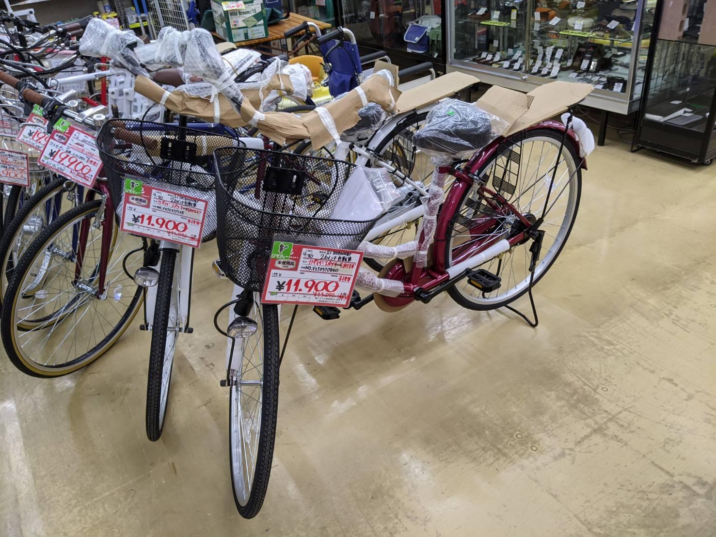 21technology 未使用 26インチ 自転車 買取致しました!!の買取-