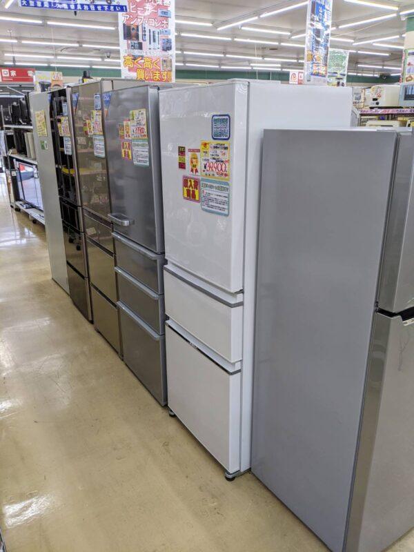 ファミリータイプ冷蔵庫、大型冷蔵庫、高価買取り致します!!