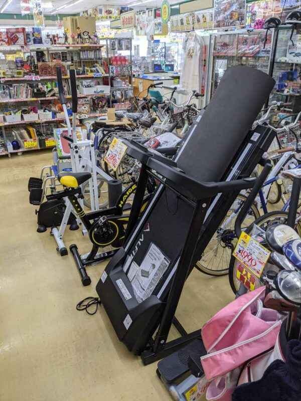 ランニングマシーン、エアロバイクなどフィットネスマシン高価買取中です!!
