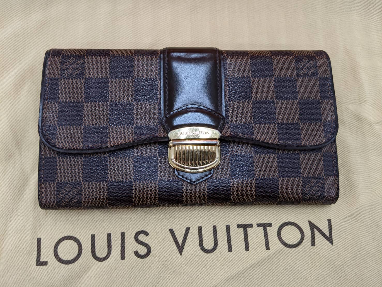 LOUIS VUITTON ルイヴィトン ポルトフォイユ システィナ 長財布 ダミエ N61747 LV をお買取りさせて頂きました!!の買取-