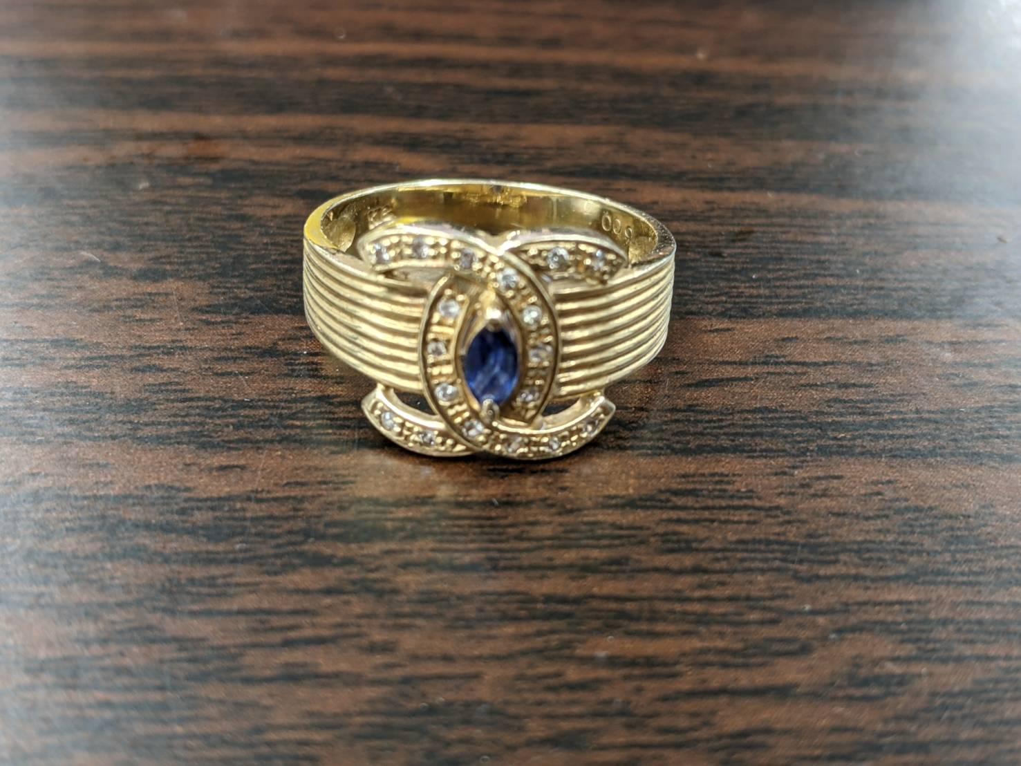 K18 YG イエローゴールド リング 指輪 3.4g をお買取りさせて頂きました!!の買取-
