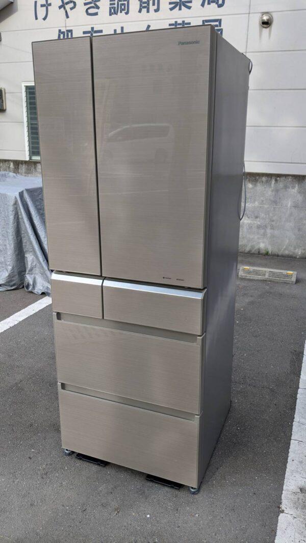 【Panasonic パナソニック 551L 冷蔵庫 2017年製 NR-F552XPV 7days パーシャル 】を買取りさせて頂きました!福岡 早良区 リサイクルショップ リサイクルマート原店