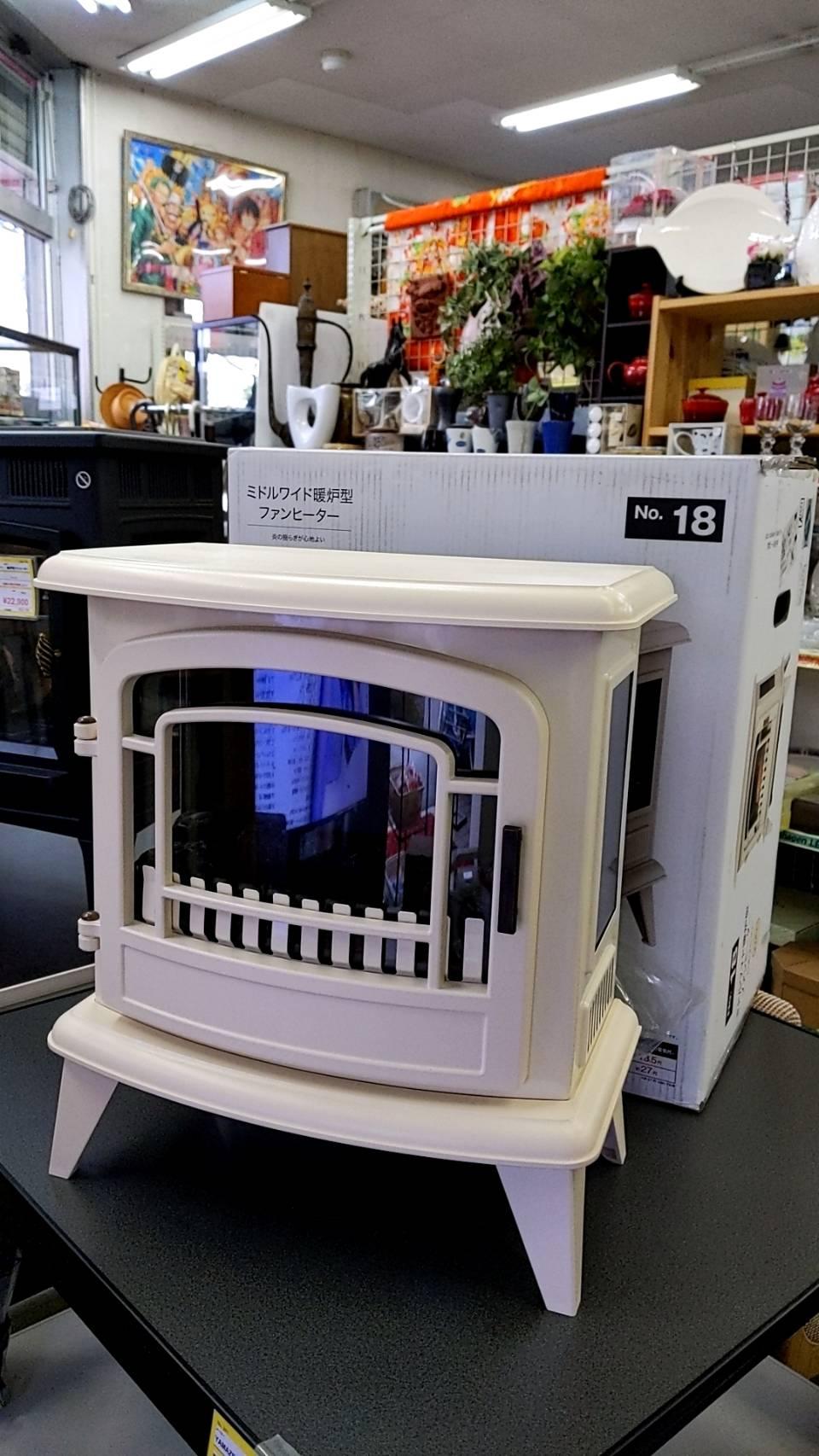 【未使用品!! NITORI(ニトリ)暖炉型ヒーター 2019年製 BLT-999B-8-Ⅳ】を買取致しました!!の買取-