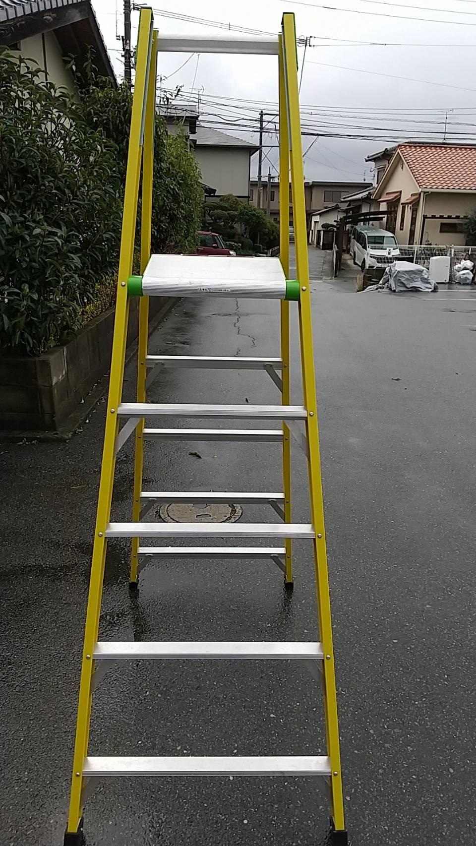 【Hasegawa(長谷川) 電工事専用脚立  オーダーメイド 最大質量100kg】を買取致しました!!の買取-